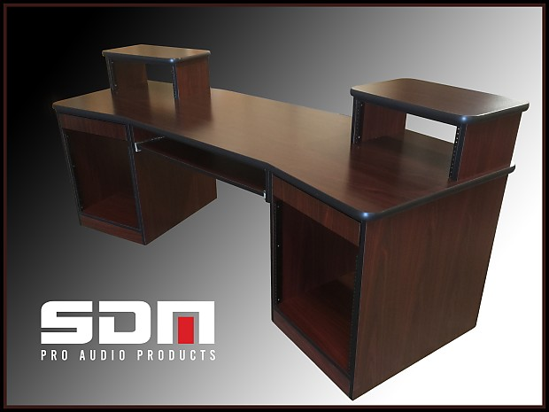 Admirable Sound Dog Music Only 1 699 For Our Producer Recording Studio Desk African Walnut Color W Black Edge Includes Keyboard Rollout Download Free Architecture Designs Scobabritishbridgeorg