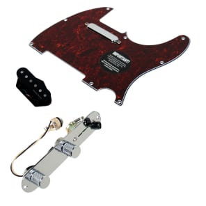 920D Custom Shop 11208-09+T3W-TO Seymour Duncan Vintage Stack Loaded Tele Pickguard w/ 3-Way Switching