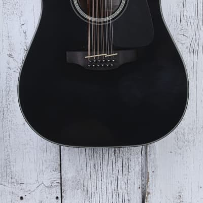 Takamine GD30CE-12 Dreadnought 12 String Acoustic Electric Guitar Black BLEM