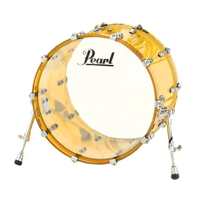 "Pearl CRB2216BX Crystal Beat 22x16"" Bass Drum"