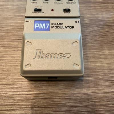 Ibanez Pm7 phase modulator Grey