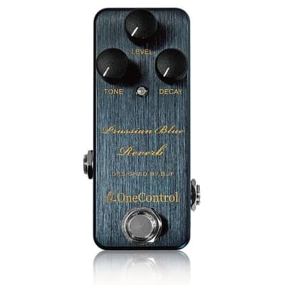 One Control Prussian Blue Reverb BJF Series Guitar Effects Pedal w/ True Bypass for sale