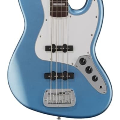 G&L TRIBUTE SERIES JB - Electric Bass with Saddle Lock Bridge and Single Coil Pickups - Lake Placid Blue for sale