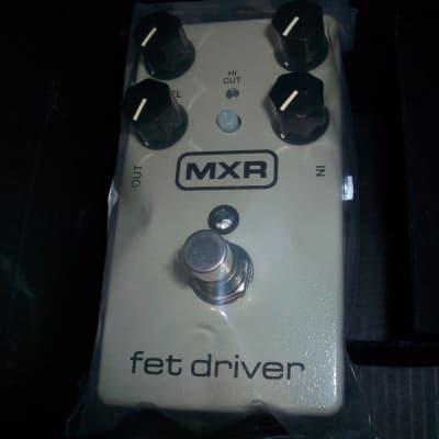 """MXR M264 FET Driver [Brand New (Sealed)] + New 8' Instrument & 6"""" Patch Cables *FREE Shipping*"""