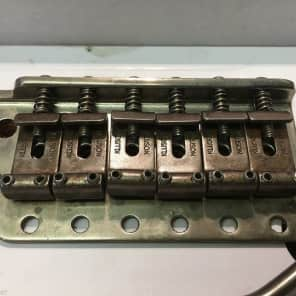 Kluson Relic Aged Vintage Strat Stratocaster Bridge Kit 2 3/16 KVTSN