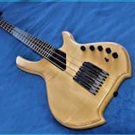 Willcox Lightwave Saber VL 4 string fretted Bass w. Xtra : Hipshot Ultralights  & Eneloop powerpack for sale