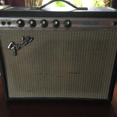 Fender Princeton Silverface 1973 Black for sale