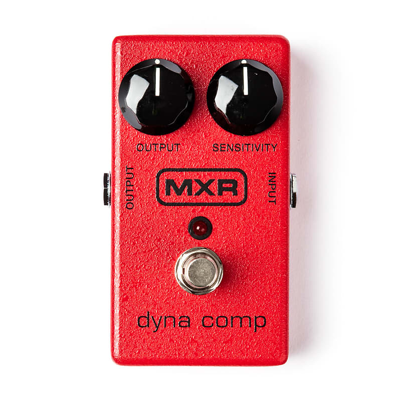 MXR M102 Dyna Comp Block Logo Compressor Effects Pedal