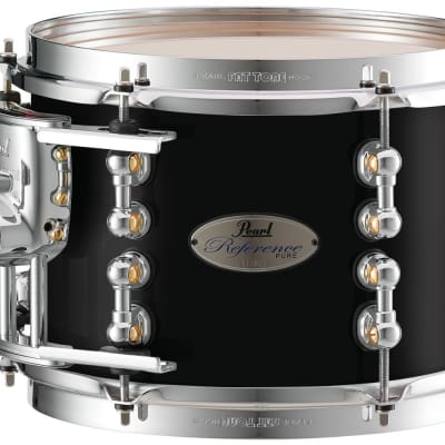 "Pearl Music City Custom Reference Pure 18""x14"" Bass Drum w/BB3 Mount RFP1814BB - Piano Black"