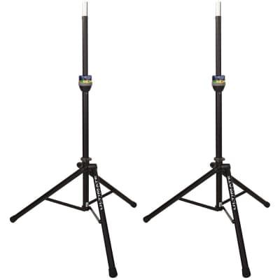 NEW Pair Ultimate Support TS90B Tripod Speaker DJ Monitor Stands TS90 Pair!