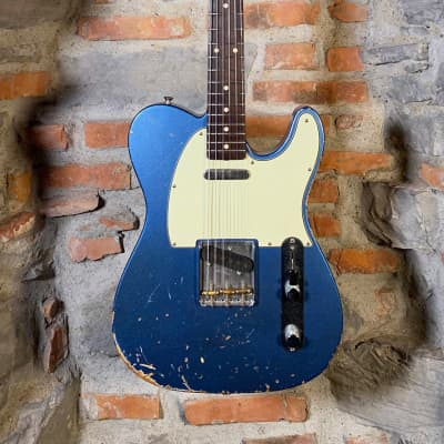 Fender Custom Shop Telecaster 61 Heavy Relic Lake Placid Blue 2010 Used Excellent Condition for sale