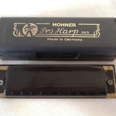 Hohner Pro Harp MS In Key Of A Harmonica - Good Used Condition - Quick Shipping -
