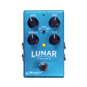 NEW! Source Audio Lunar Phaser Turquoise FREE SHIPPING!