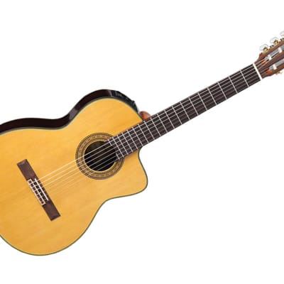 Takamine Guitars TC132SC with Cutaway Acoustic Guitar - Rosewood/Gloss Natural Finish - TC132SC for sale