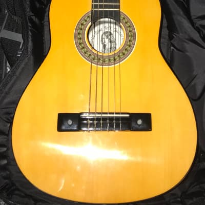 Santa Rosa KCL52 Gloss Student Kids Nylon Classical Guitar  and padded bag