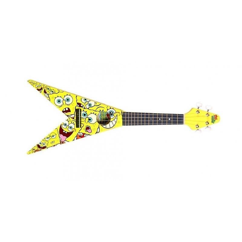 Bob Esponja Spongebob Ukelele Flying V mas acc    Nova Era