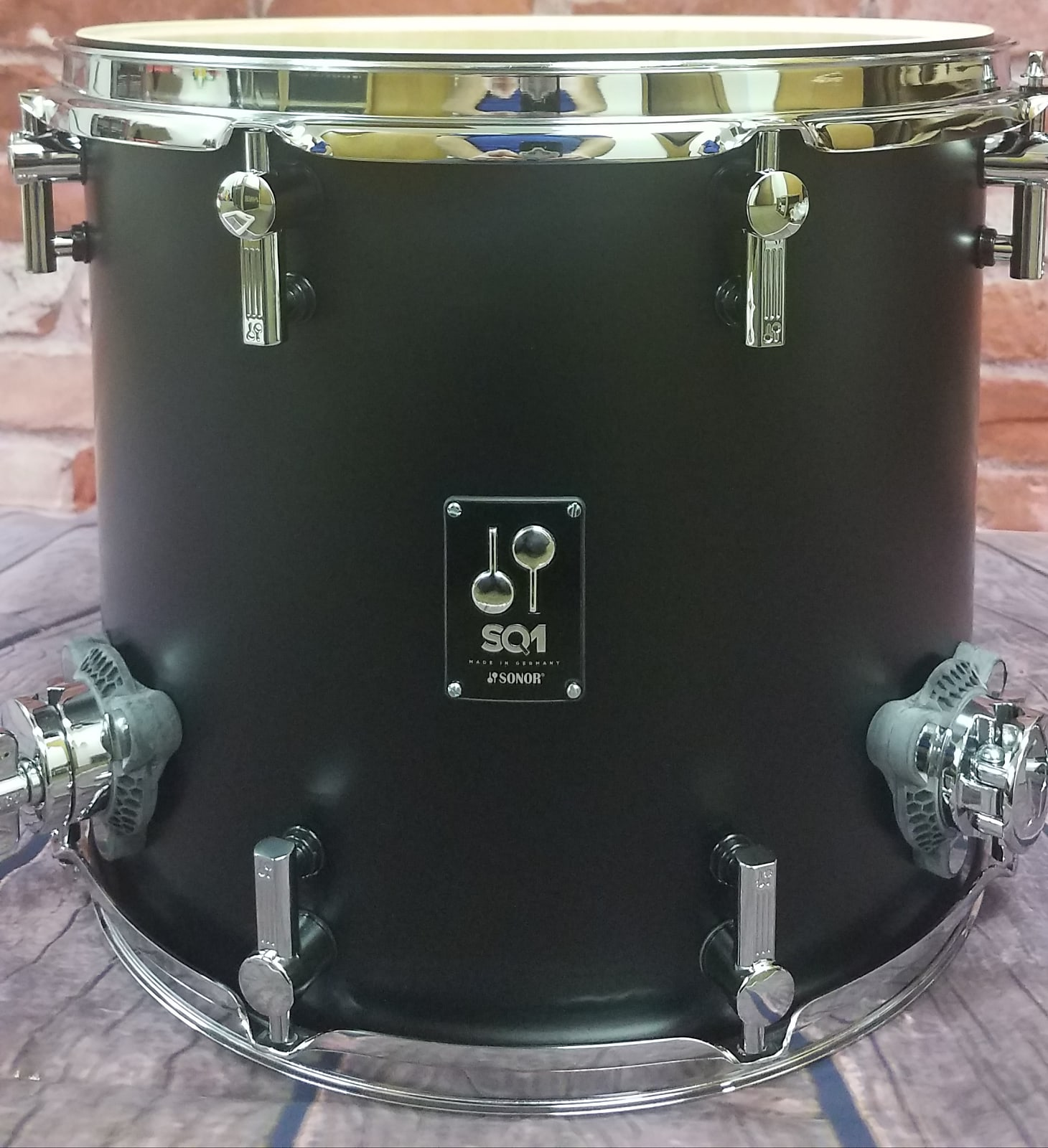 Sonor SQ1 GT Black 20x16/12x8/14x13 Shell Pack +FREE Gig Bags! NEW Authorized Dealer