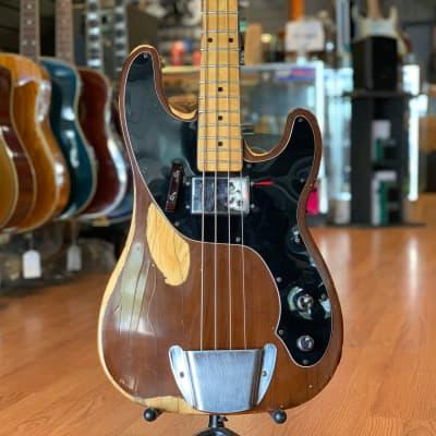 Fender Mocha Brown Telecaster Bass 1977 OHC for sale