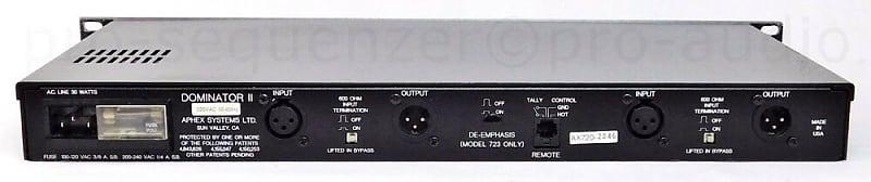 Aphex Dominator II Model 720 Precision Multiband Peak Limiter USA Garantie