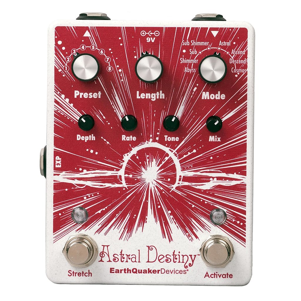 EarthQuaker Devices Astral Destiny *Free US Shipping*