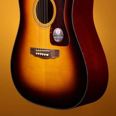Guild D-40 Bluegrass Jubilee W/DTAR Pick-Up System Acoustic Electric Guitar - Antique Burst