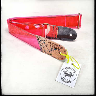 """Mother Mary Company """"Red Vinyl"""" Strap"""