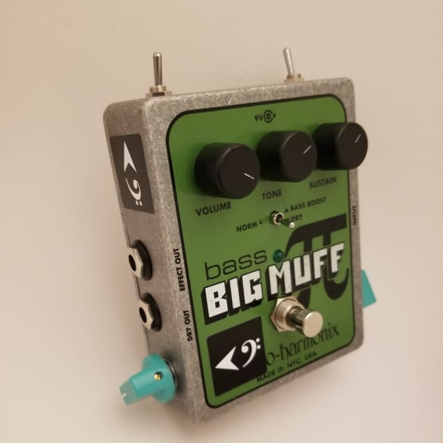 LCM Electro-Harmonix Bass Big Muff Pi -- BEEF and CHEESE Mod image