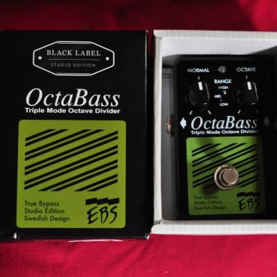 EBS Octabass Triple Mode Octave Divider Studio Edition Black Label