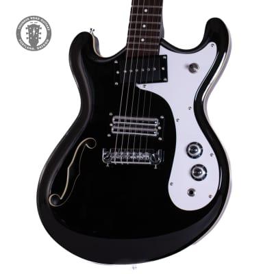 New B-Stock Danelectro '66 Classic Semi-Hollow Black for sale