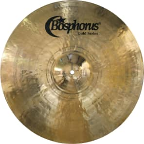 "Bosphorus 22"" Gold Series Ride Cymbal"