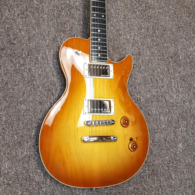 Godin Summit Classic CT HB, carved top, Crème Brulee HG finish, made in Canada, includes bag image