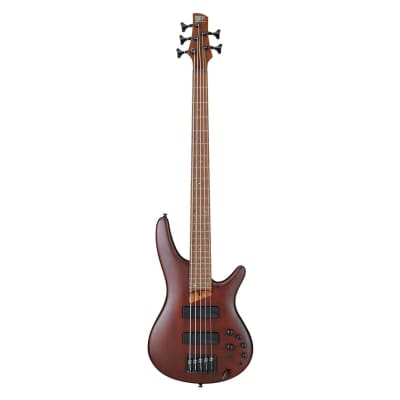 Ibanez SR505E 5-String Bass, Brown Mahogany for sale