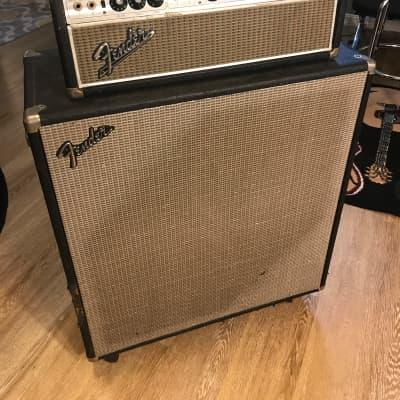 Fender Bassman 50 head and matching 2x15 cabinet