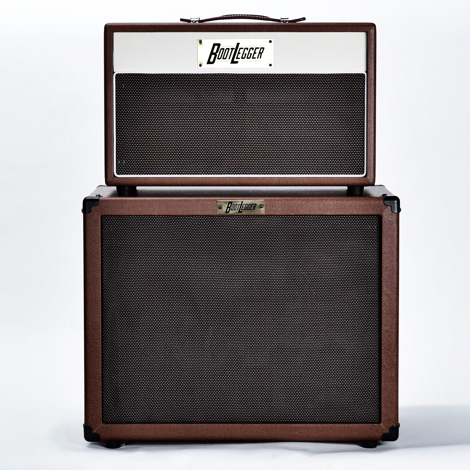 Bootlegger Guitar  Blues 15 & 12 Inch  Eminence Cabinet 2018 Brown