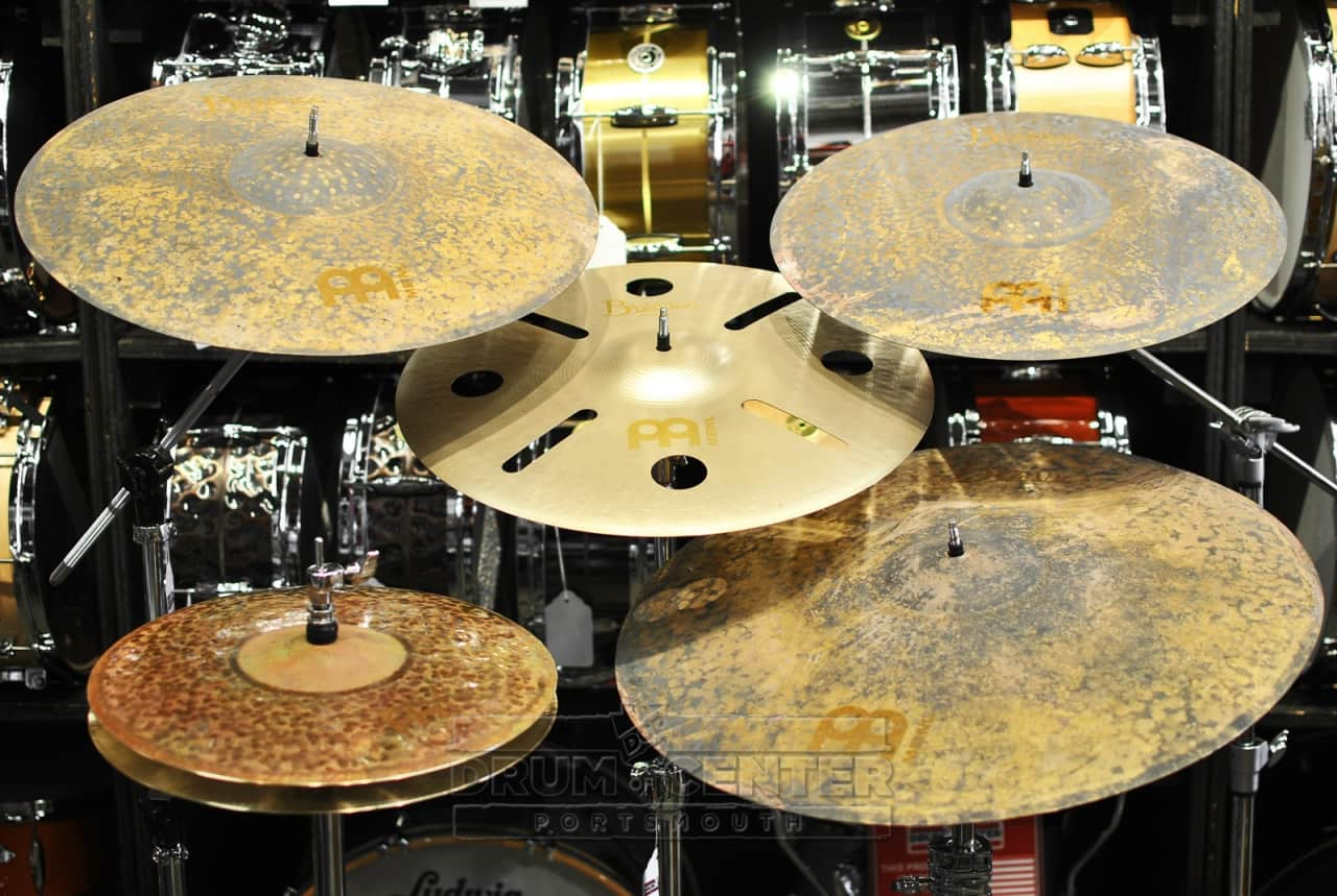 meinl byzance vintage pure cymbal set w free 18 crash reverb. Black Bedroom Furniture Sets. Home Design Ideas
