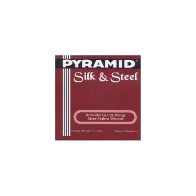 Pyramid Silk & Steel Acoustic Strings 11-46