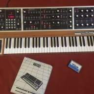 Moog Memorymoog 80's Natural Gloss / Walnut