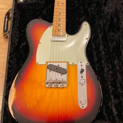 Fender Custom Shop '60 Reissue Telecaster Closet Classic 2008 Sunburst for sale