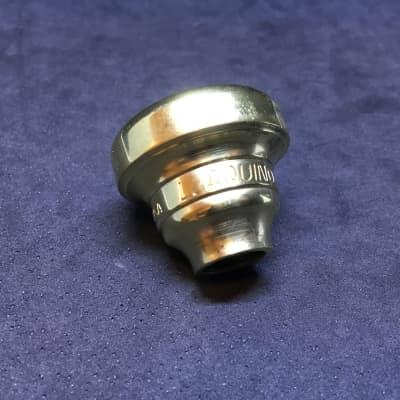 Used Warburton L. Aquino trumpet top, gold plate [689]