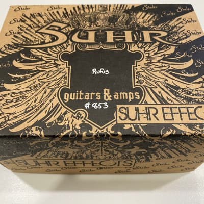 Suhr Rufus Fuzz Guitar Effects Pedal
