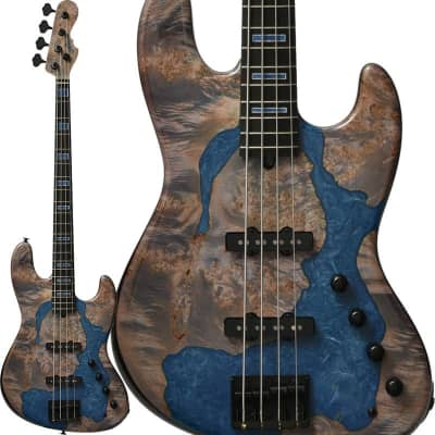 momose IKEBE 45th Anniv. MJ-IKB45TH Burl Maple x Resin (See-through Purple w/Blue Resin) for sale