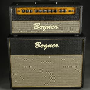 "Bogner Shiva EL34 2-Channel 80-Watt 2x12"" Guitar Amp Half Stack with Reverb"