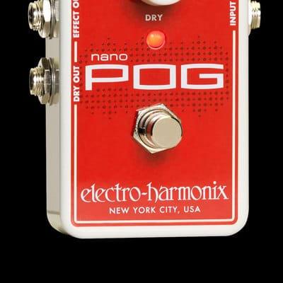 Electro Harmonix Nano Pog Octave Generator Pedal for sale