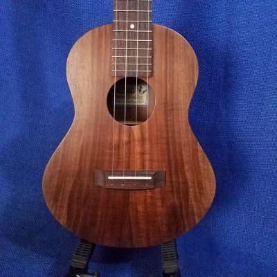Mims Ukes:  Tenor Cali Model MP Ukulele by Mike Pereira Solid California Black Walnut Ukulele ~764 image