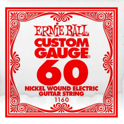 Ernie Ball Nickle Wound .060 Single String