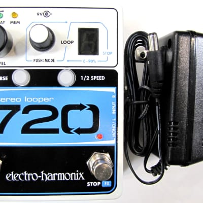 Used Electro-Harmonix EHX 720 Stereo Recording Looper Guitar Effects Pedal! image