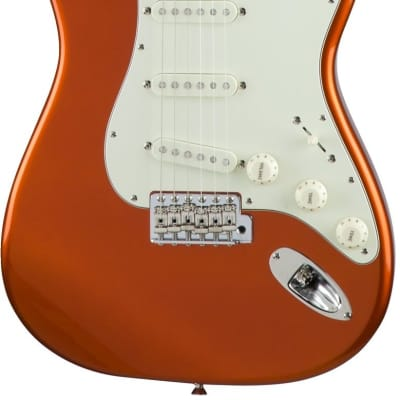 Fender Made in Japan Traditional '60s Stratocaster Candy Tangerine for sale