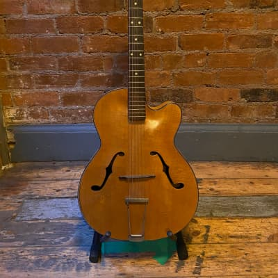 Antoria  Foreign Archtop Acoustic 50's Natural for sale