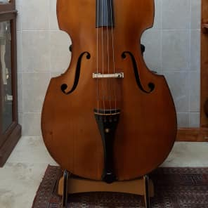 Bohemian Double Bass 1890s | Reverb