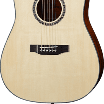 Crafter HiLite DE SNT Acoustic Electric Guitar - Natural for sale